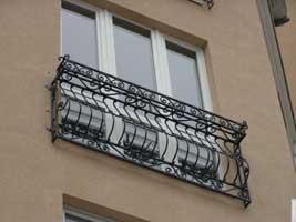 Балконные ограждения, французский балкон
