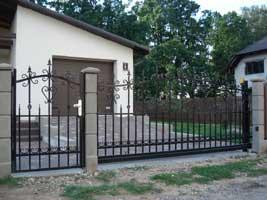 Территориальные откатные ворота